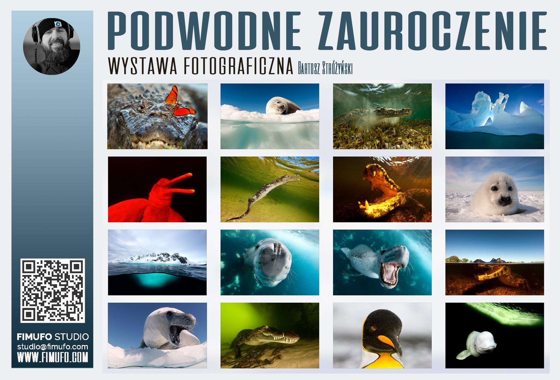 Nowa wystawa Podwodne Zaurocznie Bartosz Strozynski